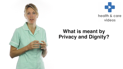 What is meant by Privacy and Dignity Thumbnail
