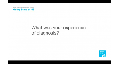What was your experience of diagnosis with MS? Thumbnail