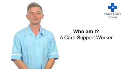 Who am I? A Care Support Worker Thumbnail