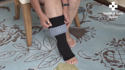 How to fit compression stockings Thumbnail