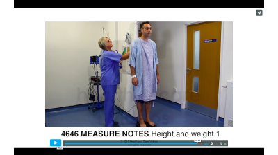Measure Notes - Height and Weight 1 Thumbnail