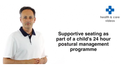 Supportive seating as part of a child's 24 hour postural management programme Thumbnail