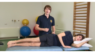 Gluteal; Hip abduction side lying Thumbnail