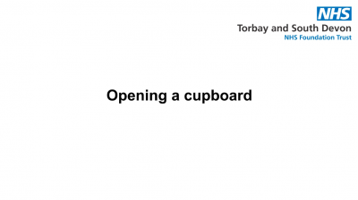 Opening a cupboard Thumbnail