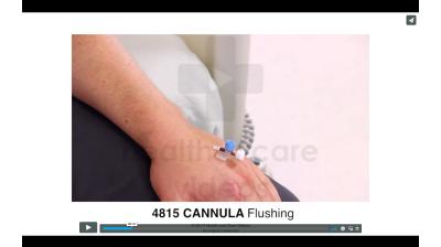 Cannula - Flushing Thumbnail