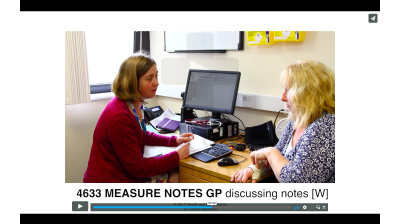 Measure Notes - GP discussing notes (W) Thumbnail
