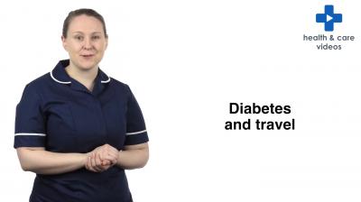 Diabetes and travel Thumbnail