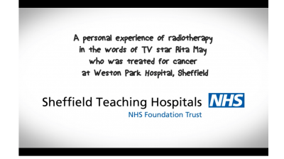 Rita May's Story - Radiotherapy at Weston Park Hospital Thumbnail