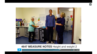 Measure Notes - Height and Weight 2 Thumbnail