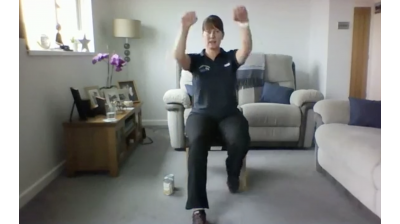 Facebook Live - Week 4: Seated Exercise with Elaine Thumbnail