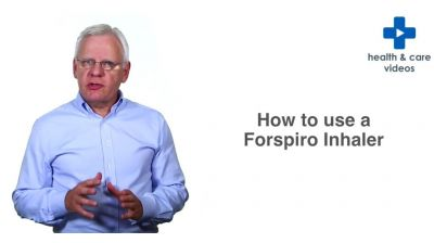 How to use a Forspiro inhaler Thumbnail