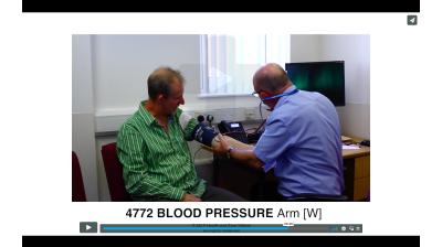 Blood Pressure - Arm Thumbnail