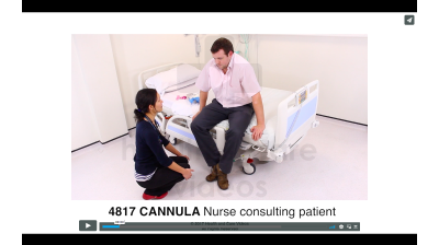 Cannula - Nurse Consulting Patient Thumbnail