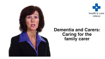 Dementia and Carers: Caring for the family carer Thumbnail