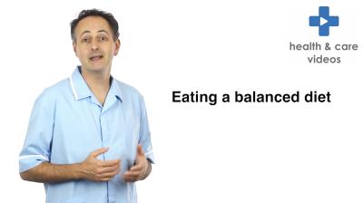 Eating a balanced diet Thumbnail