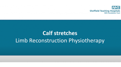 Calf Stretches Thumbnail