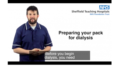 Preparing your pack for dialysis Thumbnail