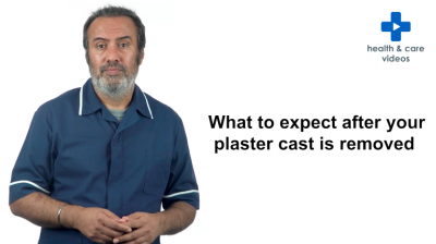 What to Expect After Your Plaster Cast is Removed Thumbnail