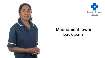 Mechanical Lower Back Pain Thumbnail