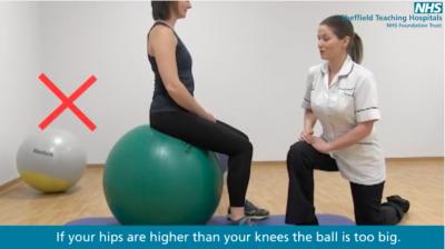 Mat and gym ball exercises Thumbnail