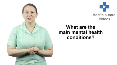 What are the main mental health conditions Thumbnail