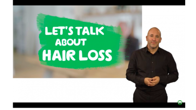 Let's talk about hair loss (British Sign Language) Thumbnail
