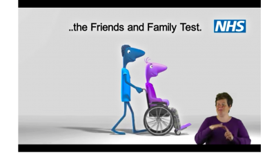 BSL: Put us to the test… the NHS Friends and Family Test Thumbnail