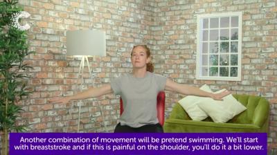 Arm exercises for lymphoedema Thumbnail