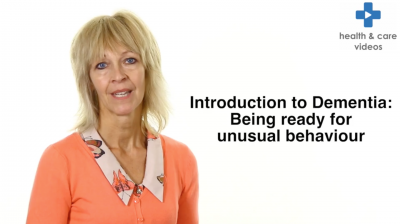 Introduction to Dementia: Being ready for unusual behaviour Thumbnail