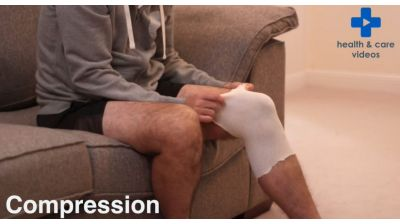 How to care for an injury to a joint at home Thumbnail