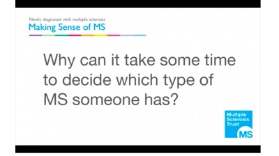 Why can it take some time to decide which type of MS someone has? Thumbnail