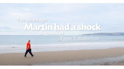 Martin's Walking Away from Type 2 Diabetes Thumbnail