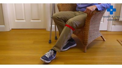 How to sit down and stand up with crutches Thumbnail