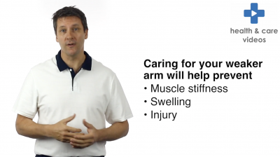 Care of the weak arm Thumbnail