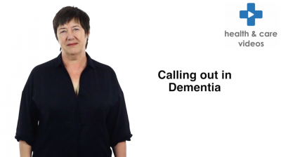Calling out in Dementia Thumbnail