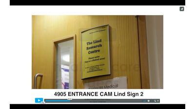 Entrance Cam - Lind sign 2 Thumbnail