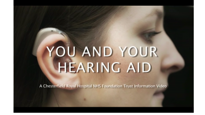 Fitting and maintaining a hearing aid - A Chesterfield Royal Hospital guide Thumbnail