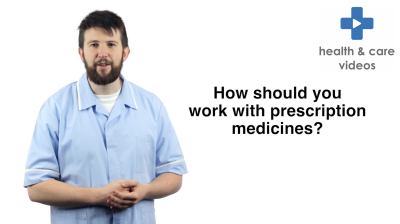 How should you work with prescription medicines Thumbnail