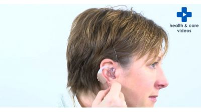 How to insert your moulded hearing aid Thumbnail