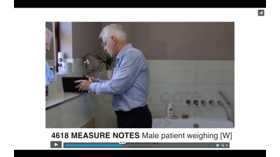 Measure Notes - Male patient weighing (W) Thumbnail