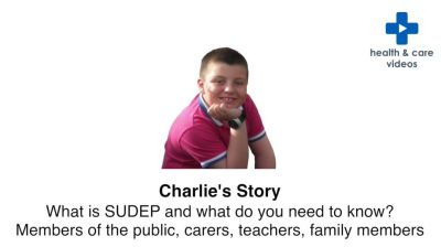 What is SUDEP and what do you need to know? Members of the public, carers, teachers, family members Thumbnail