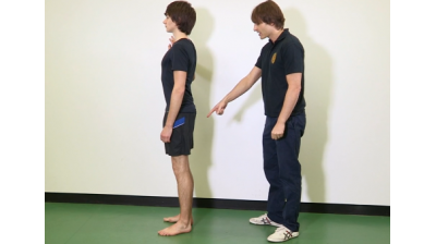Hamstring curls in standing Thumbnail