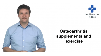 Osteoarthritis supplements and exercise Thumbnail