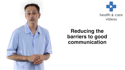 Reducing the barriers to good communication Thumbnail