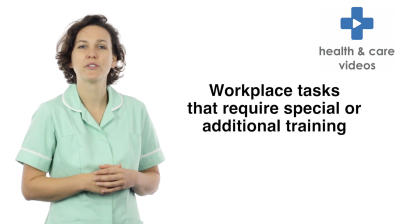 Workplace tasks that require special or additional training Thumbnail
