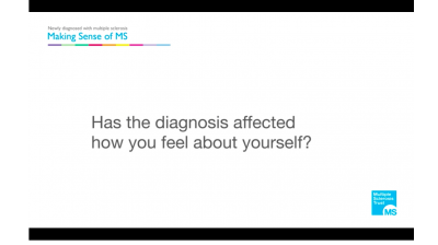 Has diagnosis with MS affected how you feel about yourself? Thumbnail