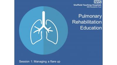 Session 1 Pulmonary rehabilitation Exacerbation Management Thumbnail