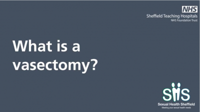 What is a vasectomy? Thumbnail