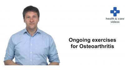 Ongoing exercises for Osteoarthritis Thumbnail