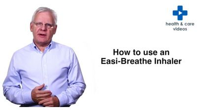 How to use an Easi-Breathe inhaler Thumbnail